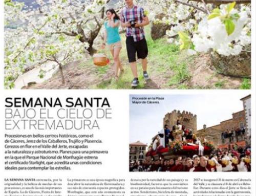 Semana Santa bajo el cielo de Extremadura